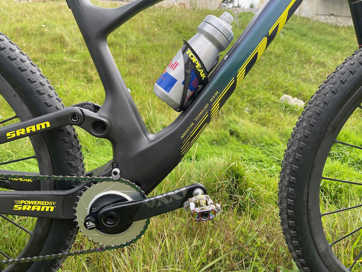 Lars Forster Scott Spark WC race bike check