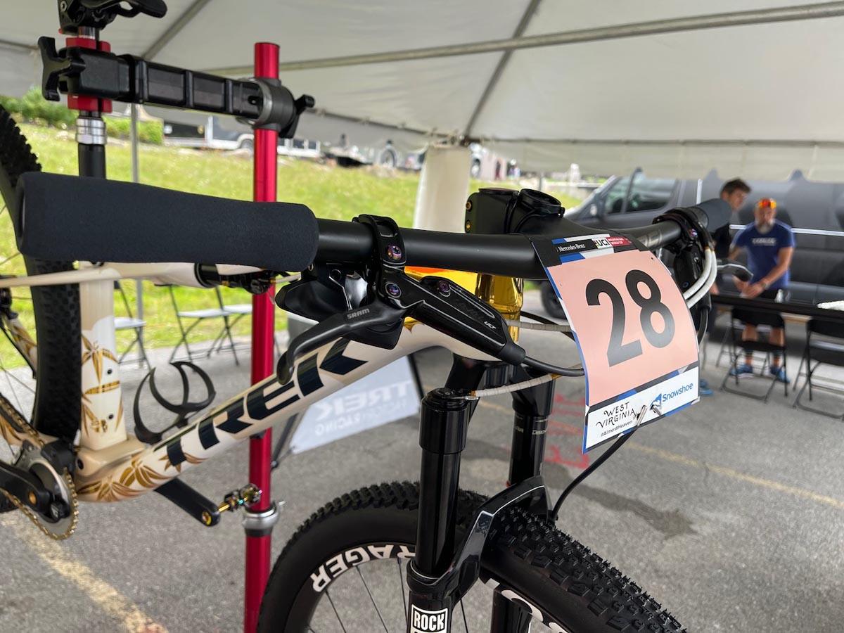 World Cup Pro Bike Check: Yolanda Neff's Olympic Gold Trek Supercaliber XC Race Bike thumbnail