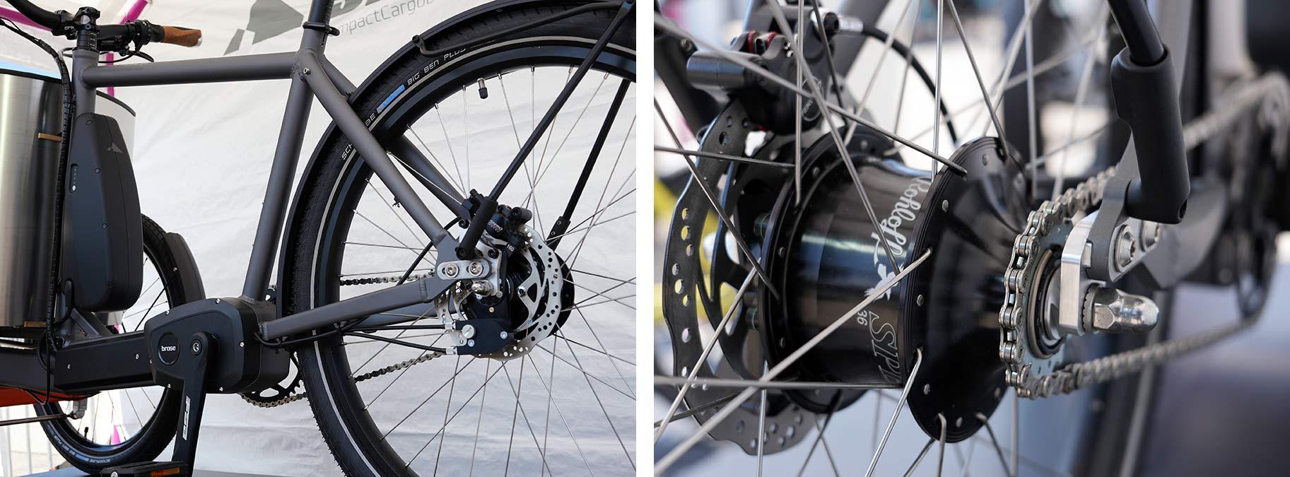 sblocs cargo trick e-bike motor a hnací ústrojí