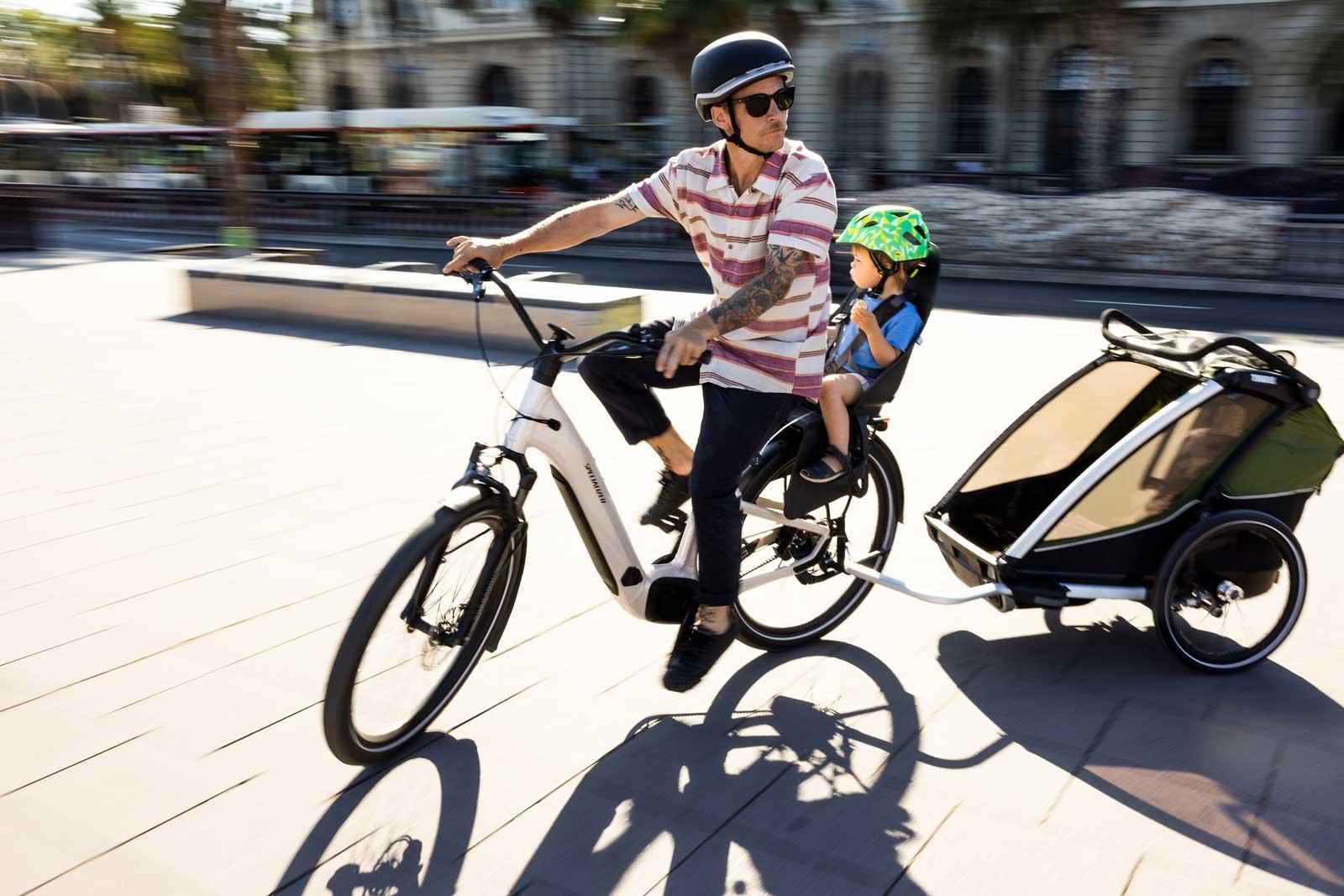 2022 specialized turbo como ebike trailer child seat compatible