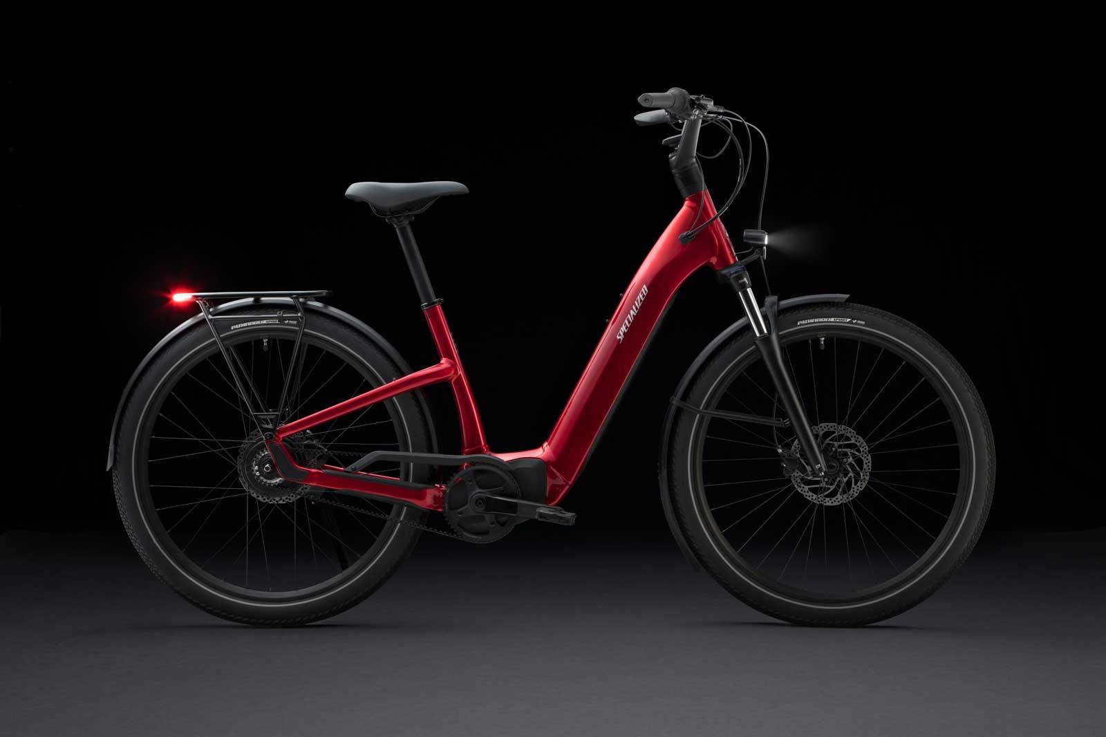 2022 specialized turbo como ebike red