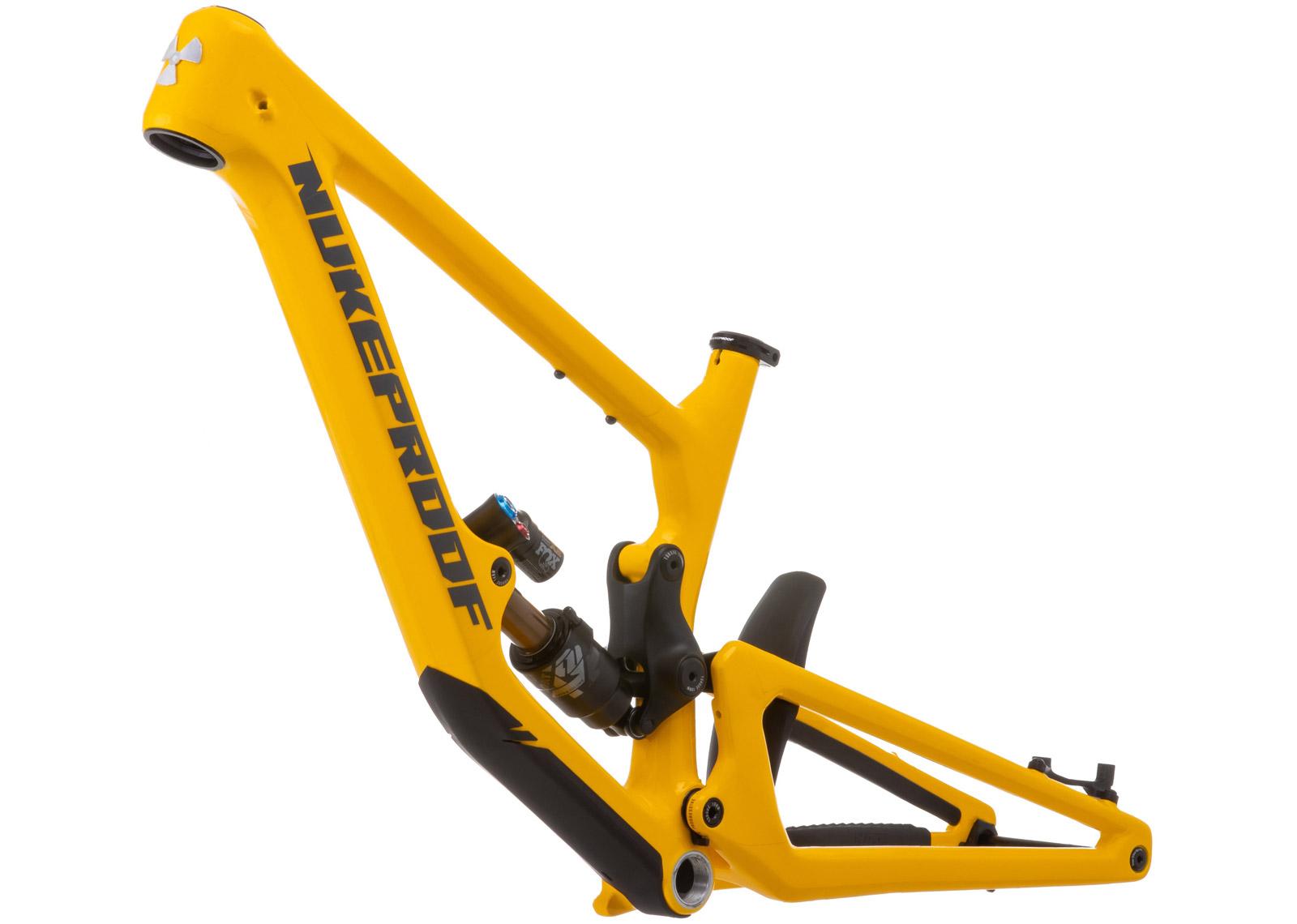 nukeproof giga 297 mullet frameset yellow