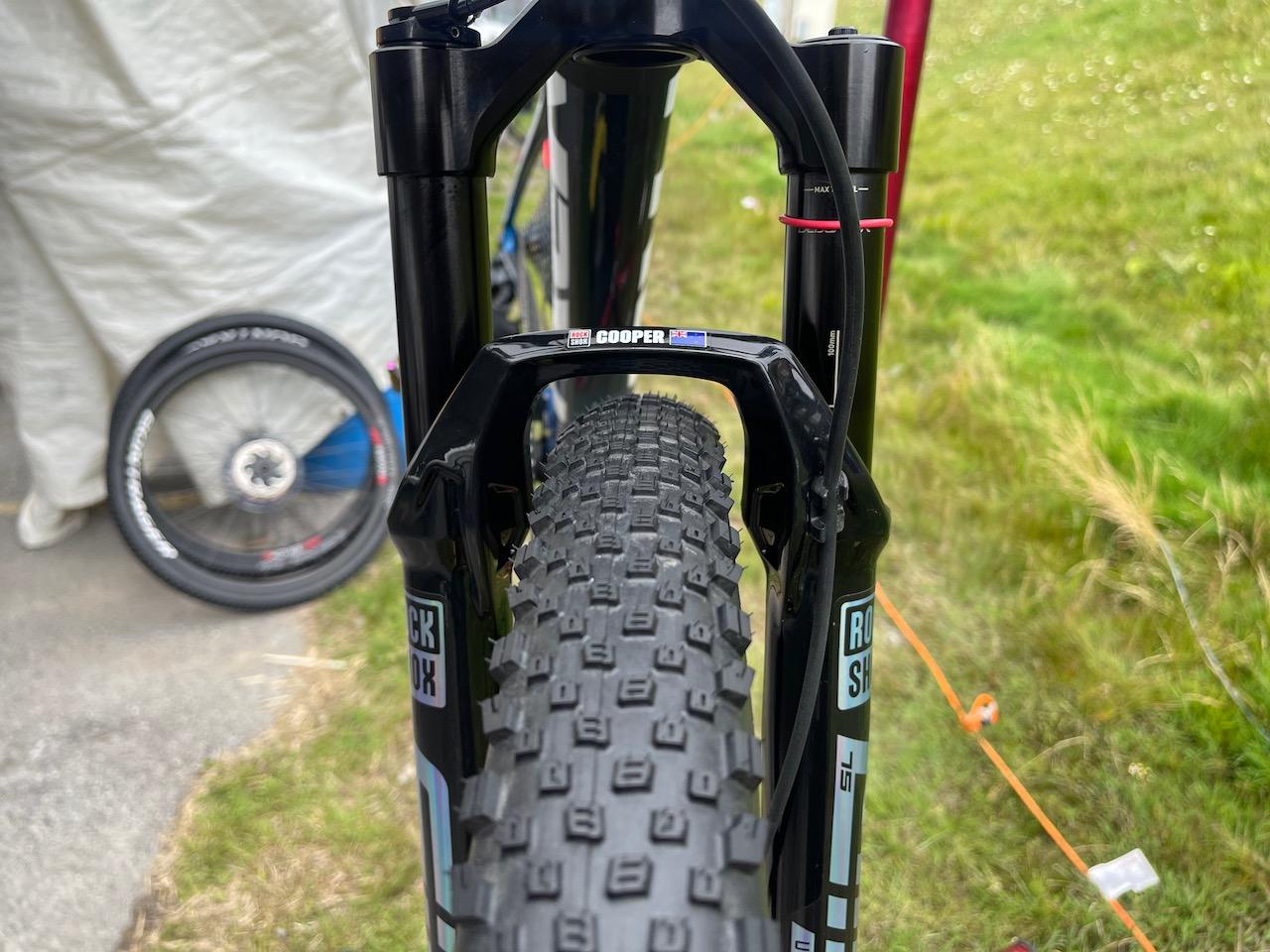 Anton Cooper Trek Supercaliber Full tire choices