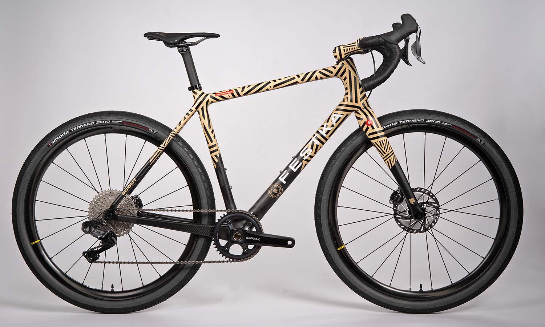 Festka Scout custom carbon adventure gravel bike,Mummy 650b GRX Di2