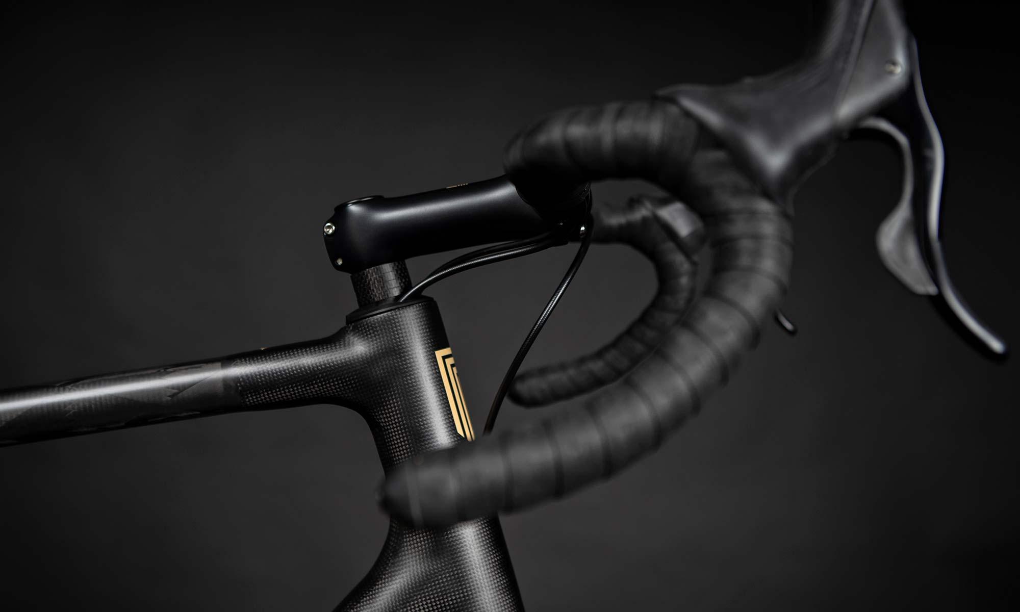 Festka Scout custom carbon adventure gravel bike,internal routing