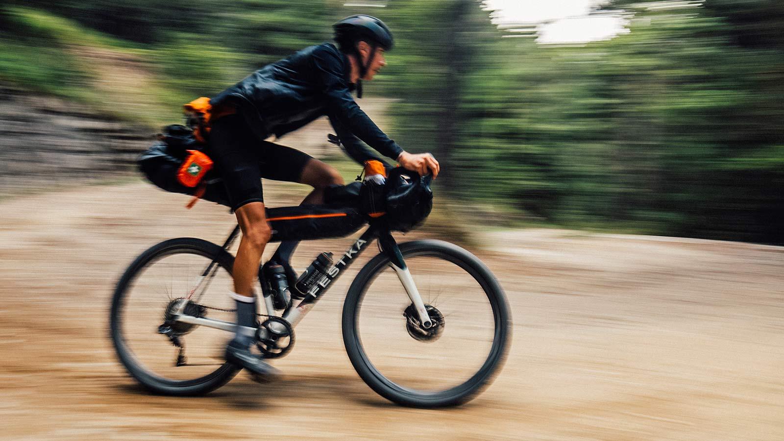 Festka Scout custom carbon adventure gravel bike,fast gravel adventure