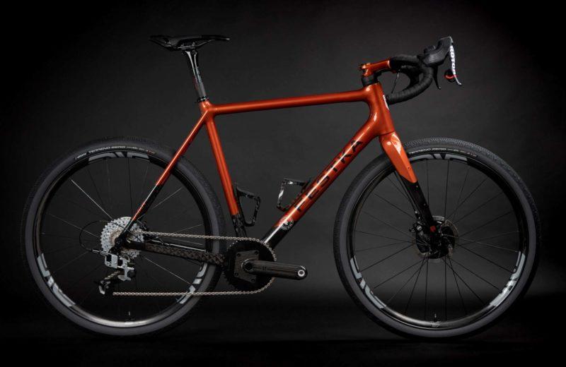 Festka Scout custom carbon adventure gravel bike,Rotor complete