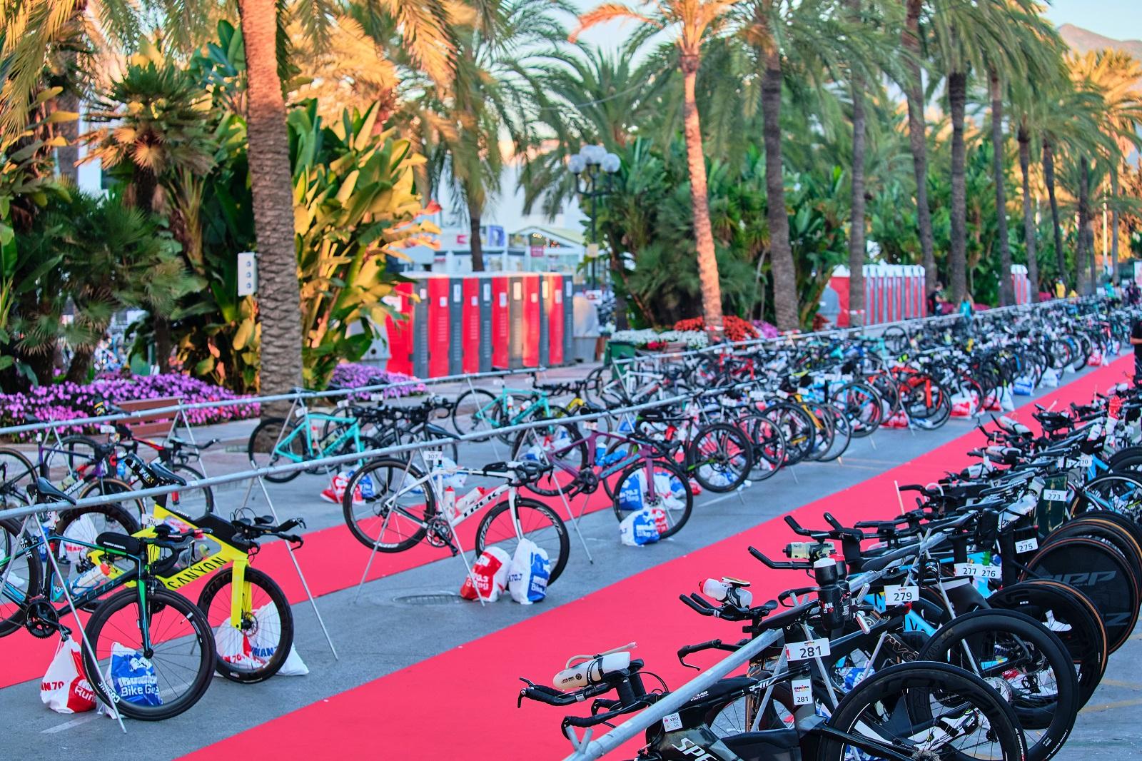 Ironman cycling area