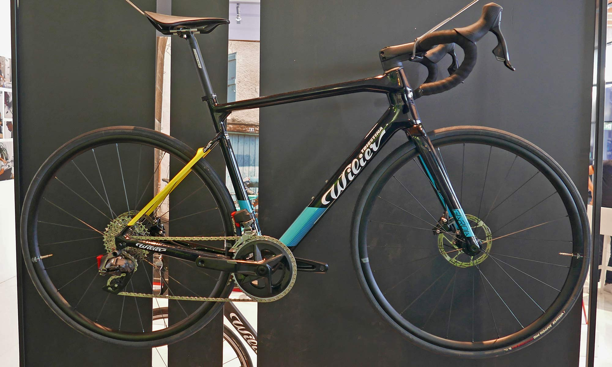 Wilier Garda light affordable carbon aero road bike