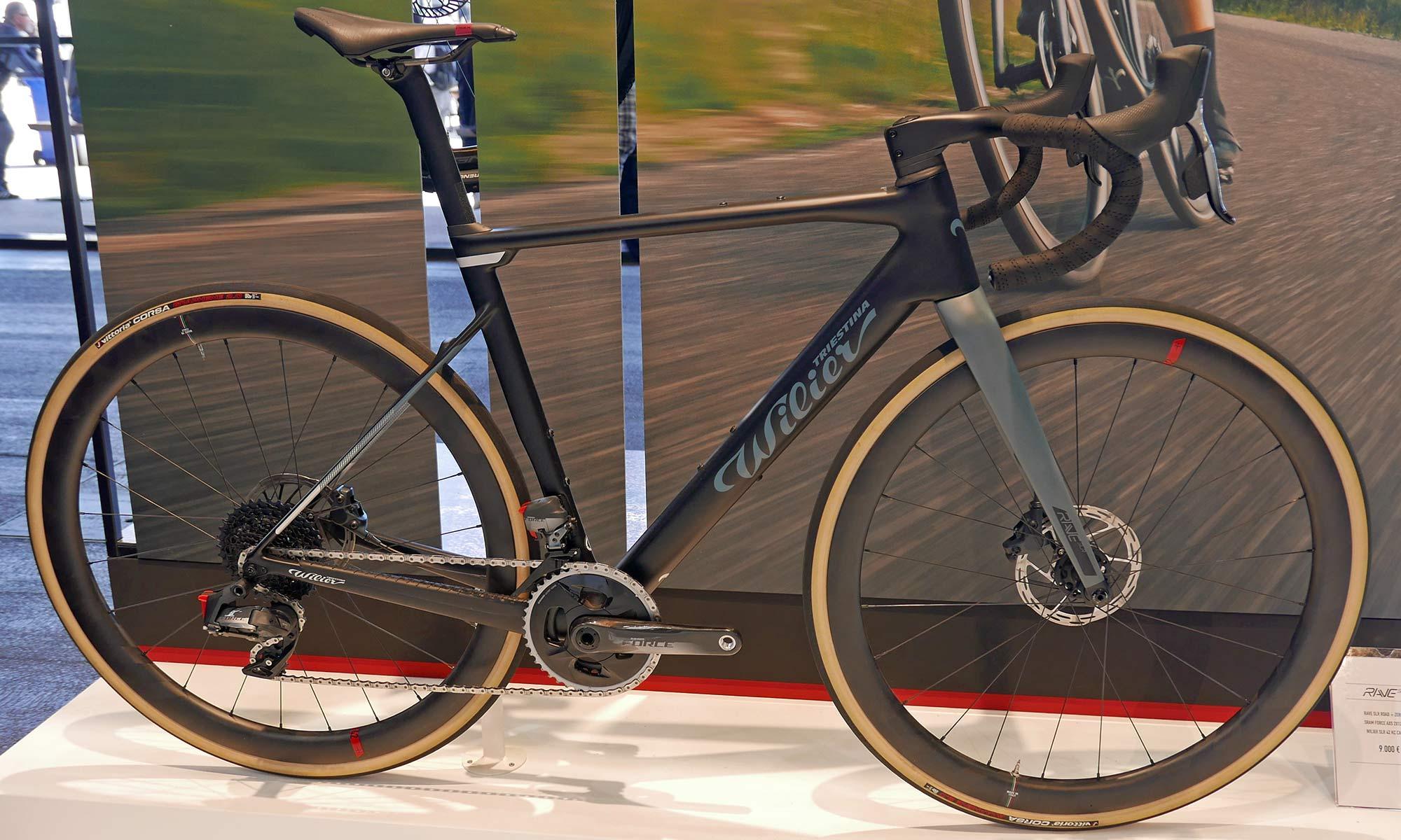 Wilier Rave SLR lightweight carbon all-road gravel bike, endurance all-road build