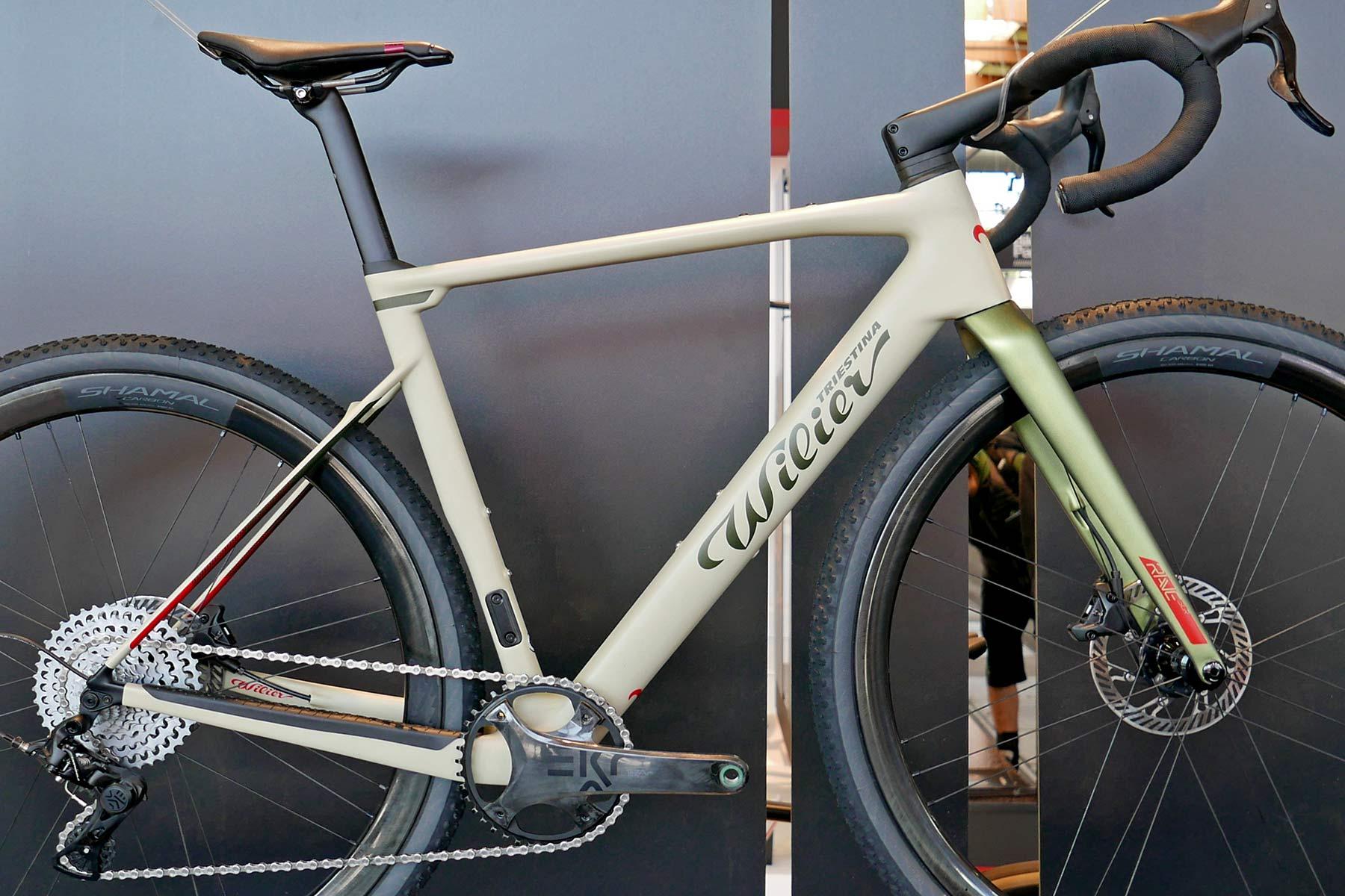 Wilier Rave SLR lightweight carbon all-road gravel bike, frameset