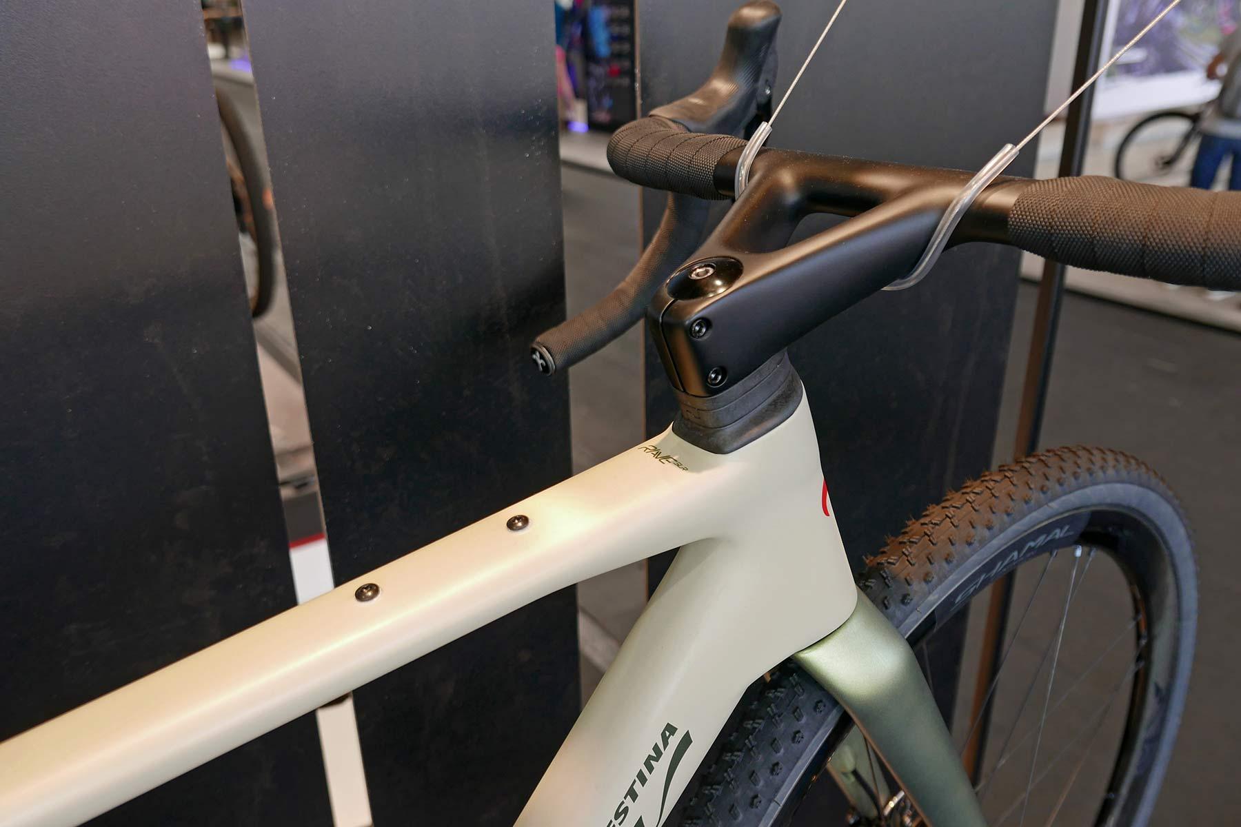 Wilier Rave SLR lightweight carbon all-road gravel bike, front end cockpit detail