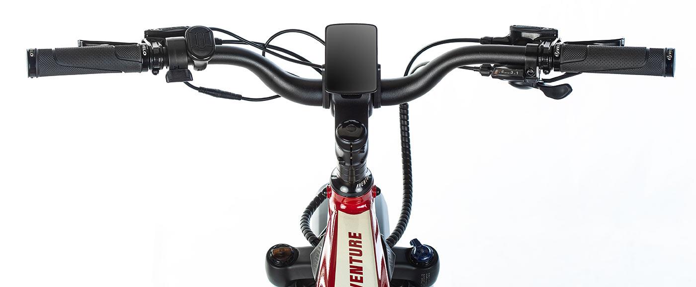 computer and cockpit for aventon aventure e-bike