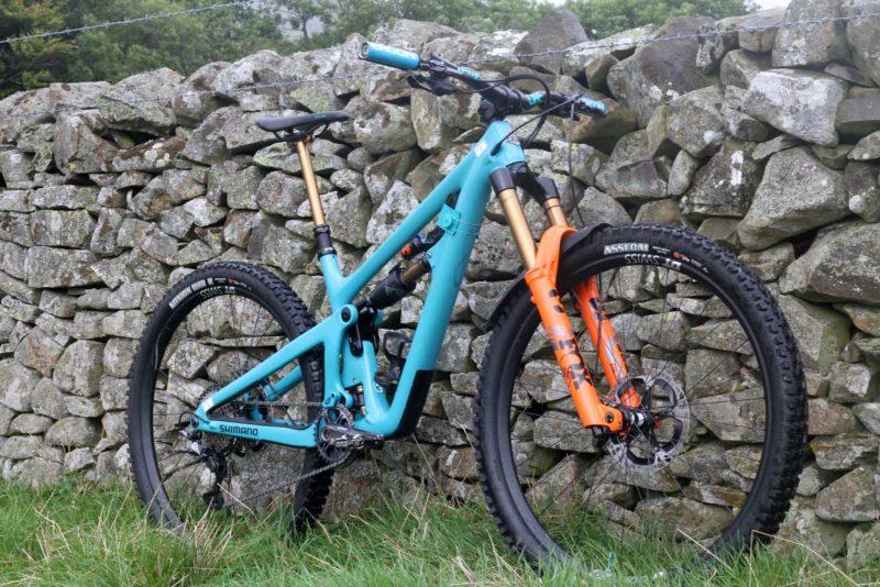 richie rude yeti sb150 pro bike check ews tweed valley 2021