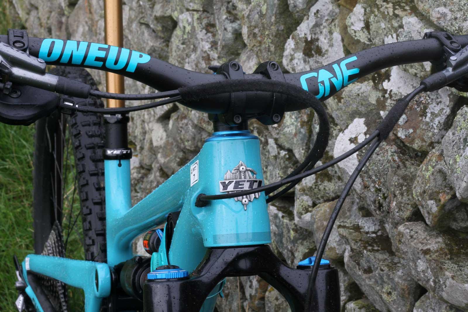 richie rude yeti sb150 pro bike check cockpit components
