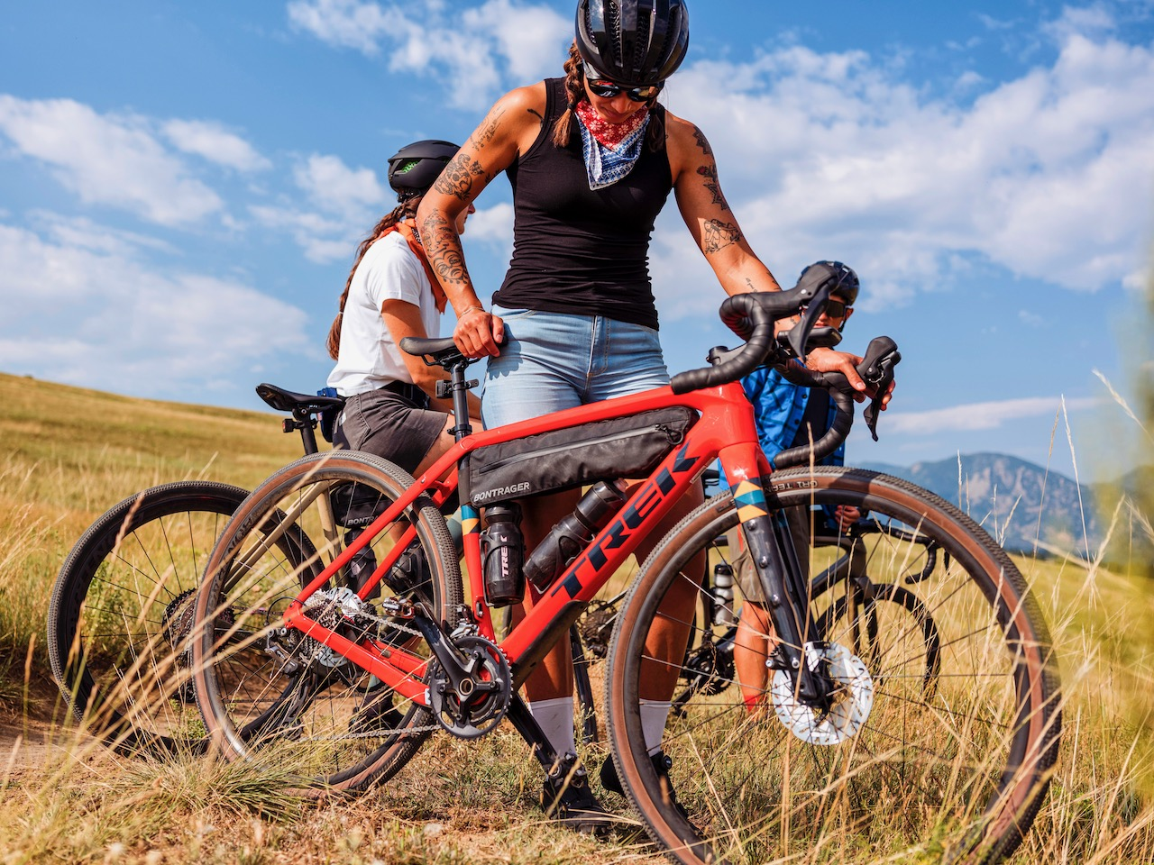 Trek Checkpoint loaded for touring