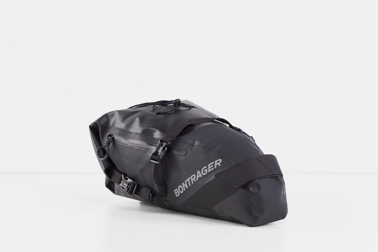 Bontrager Adventure bag packed seat bag solo