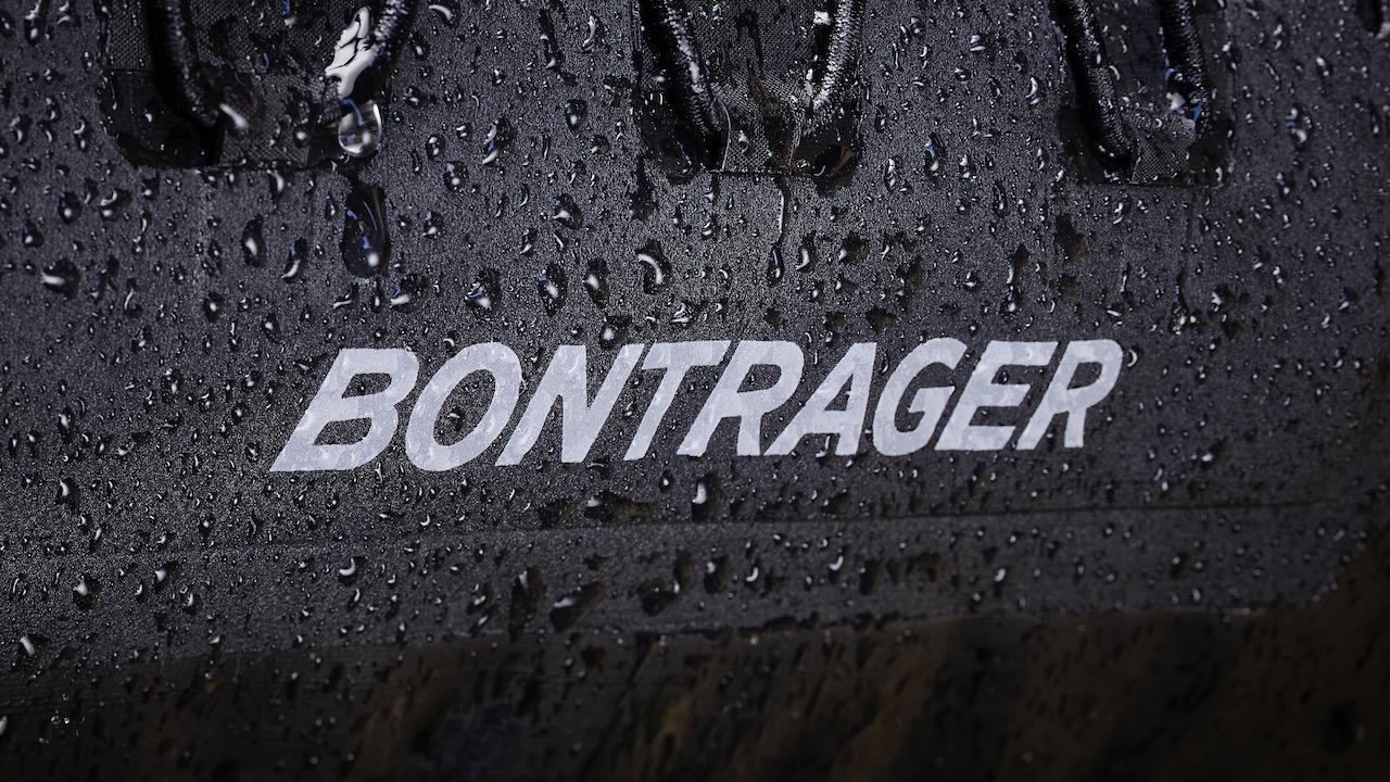 Bontrager Adventure bag packed wet logo