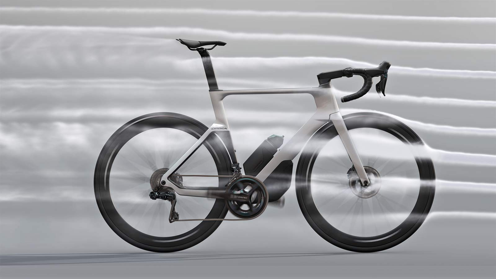 2022 Orbea Orca Aero carbon road bike, air flow