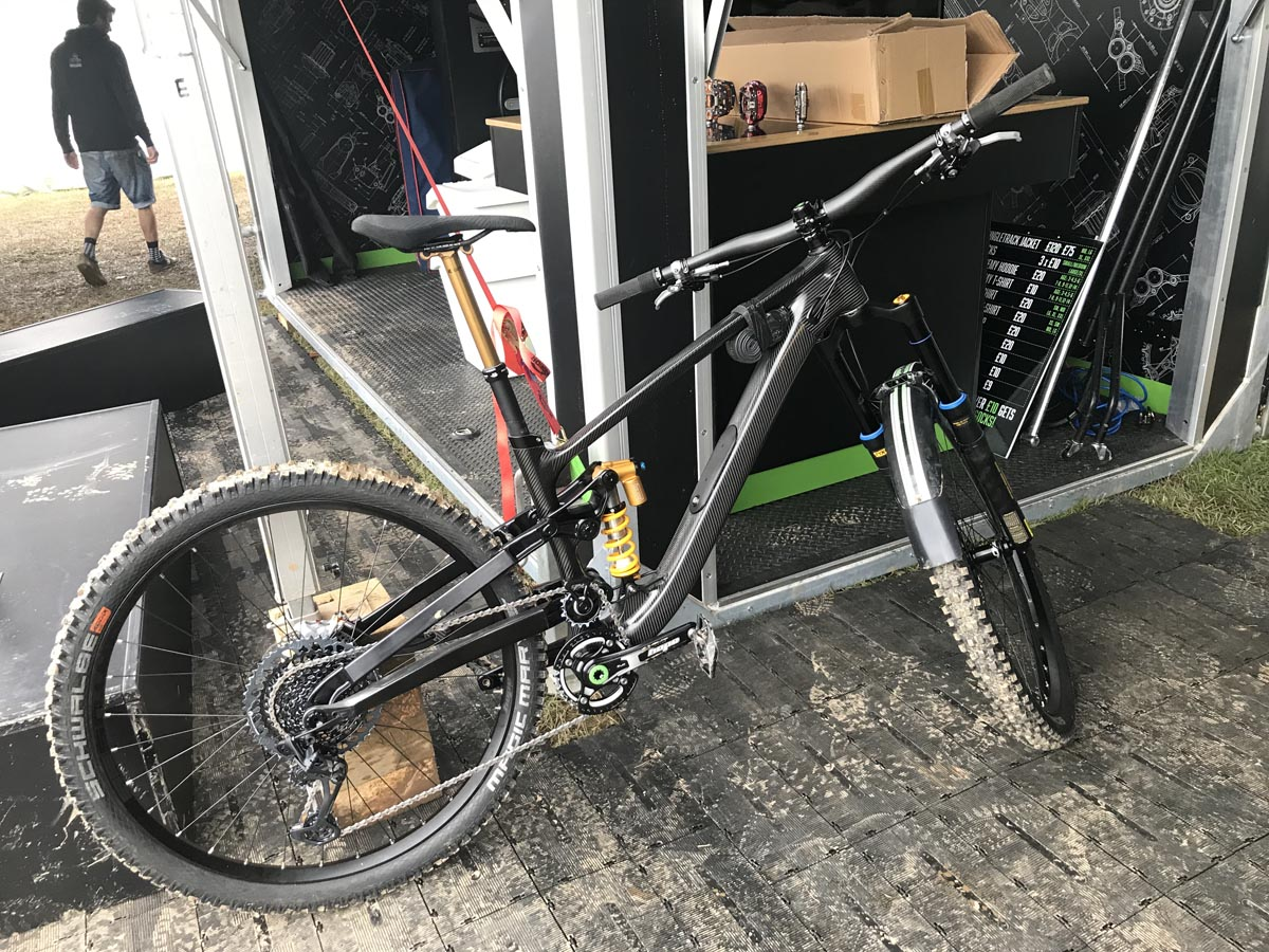 Hope Bikes High Pivot -prototyyppi Enduro -pyörä