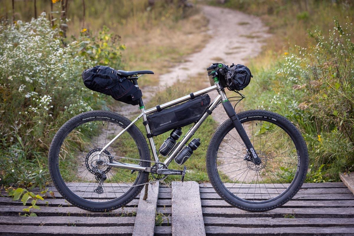Otso Fenrir Flat bar bikepacking