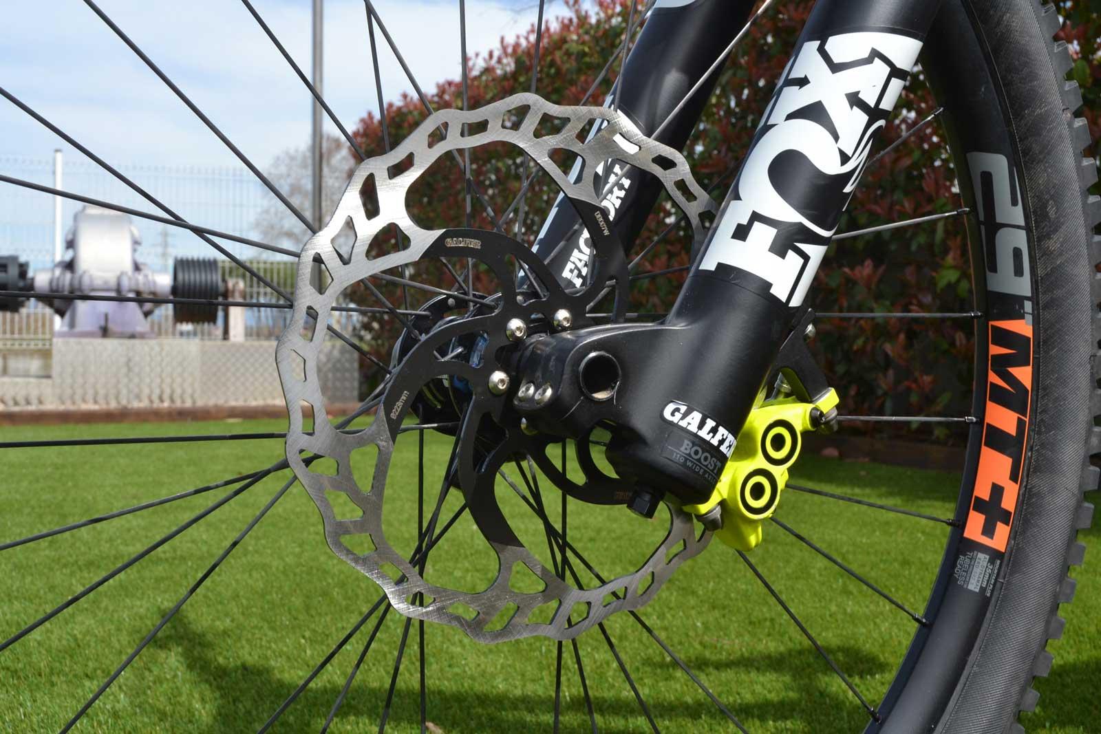 galfer fixed disc wave brake rotor