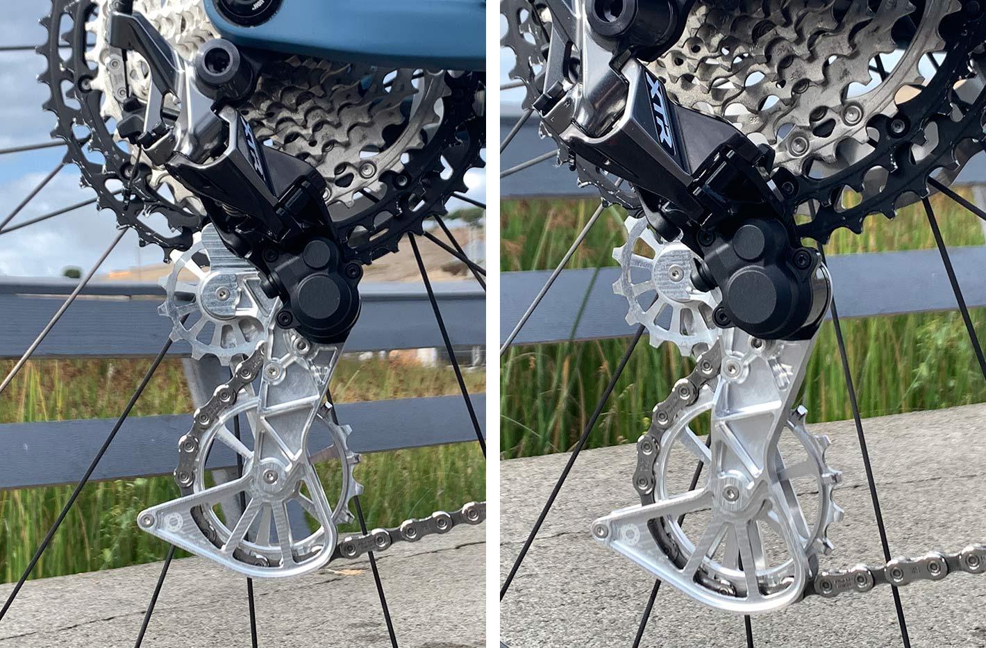 kogel oversized ceramic bearing pulley for shimano 12-speed mountain bike derailleurs