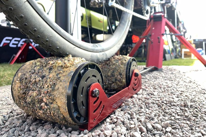 fake gravel rollers from feedback sports