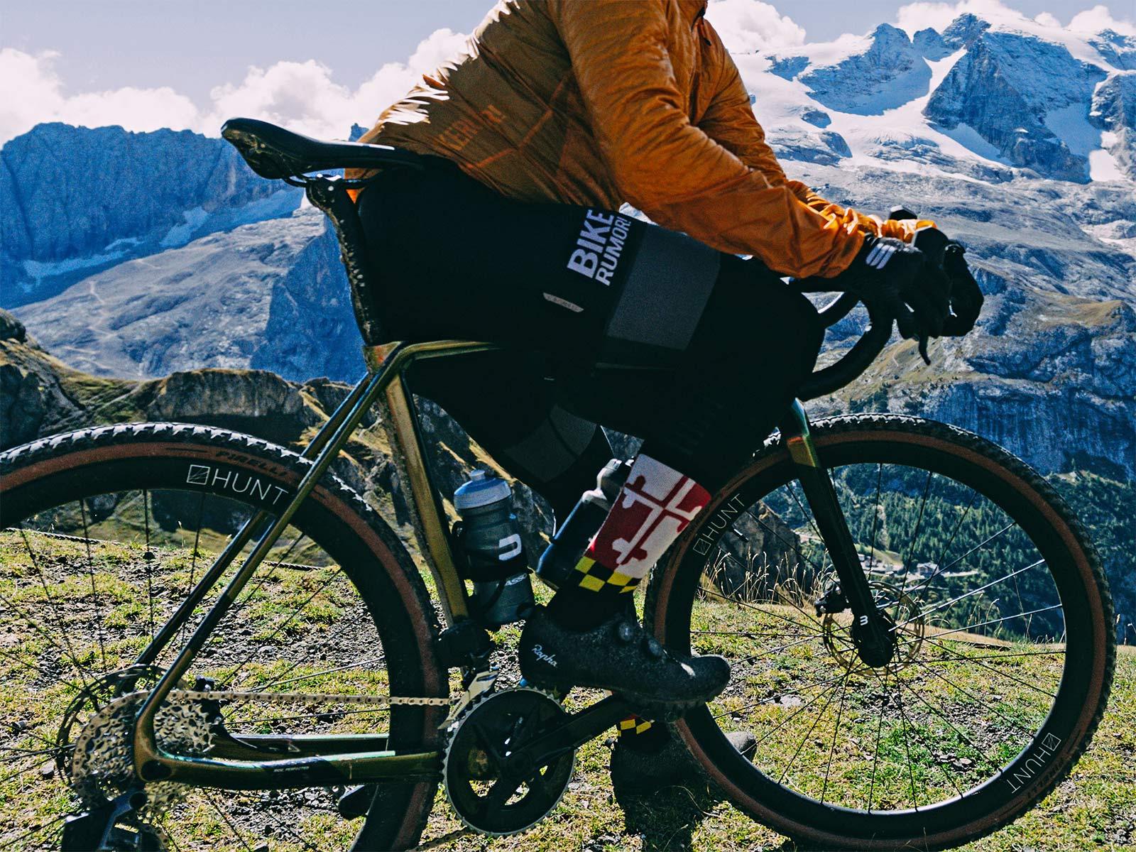 2022 Basso Palta II carbon gravel bike review made-in-Italy, photo by Francesco Bonato,frameset detail