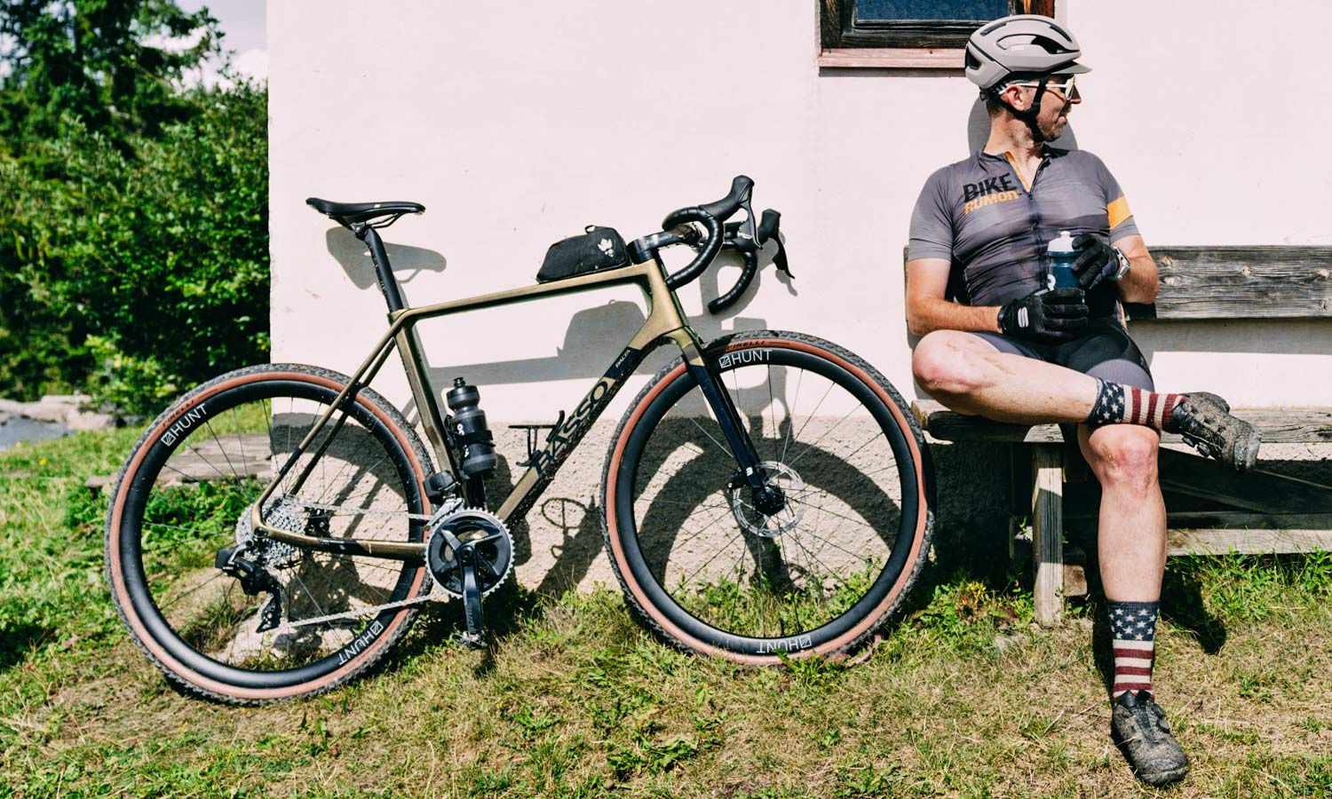 2022 Basso Palta II carbon gravel bike review made-in-Italy, photo by Francesco Bonato,pit-stop