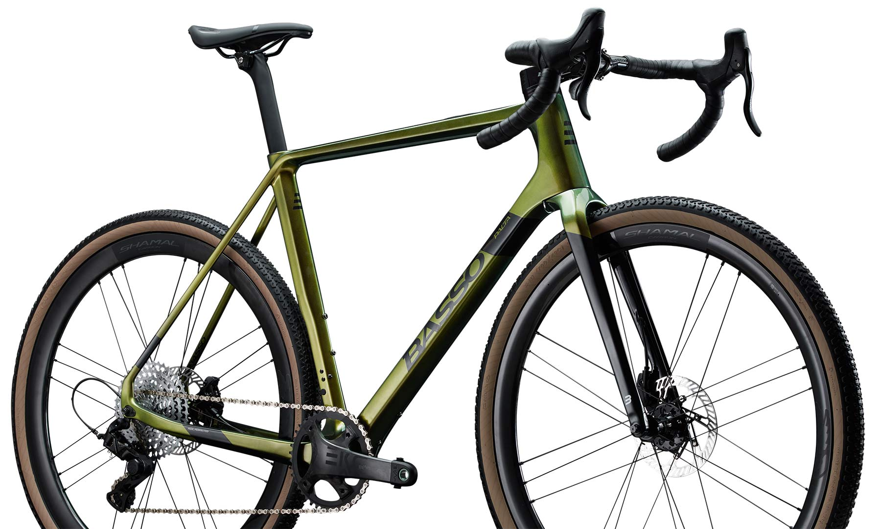 2022 Basso Palta II carbon gravel bike, Campy Ekar
