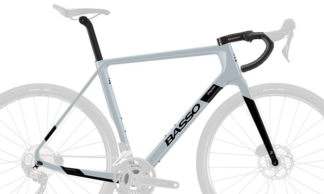 2022 Basso Palta II carbon gravel bike, frame kit
