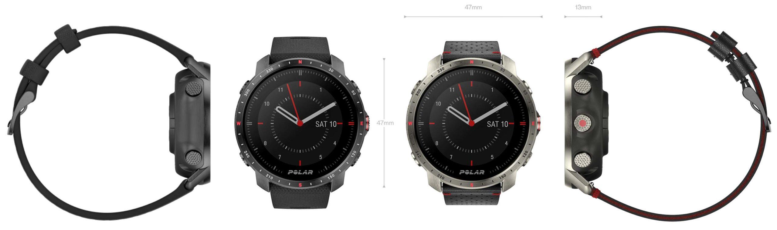 Polar Grit X Pro Titan training smartwatch