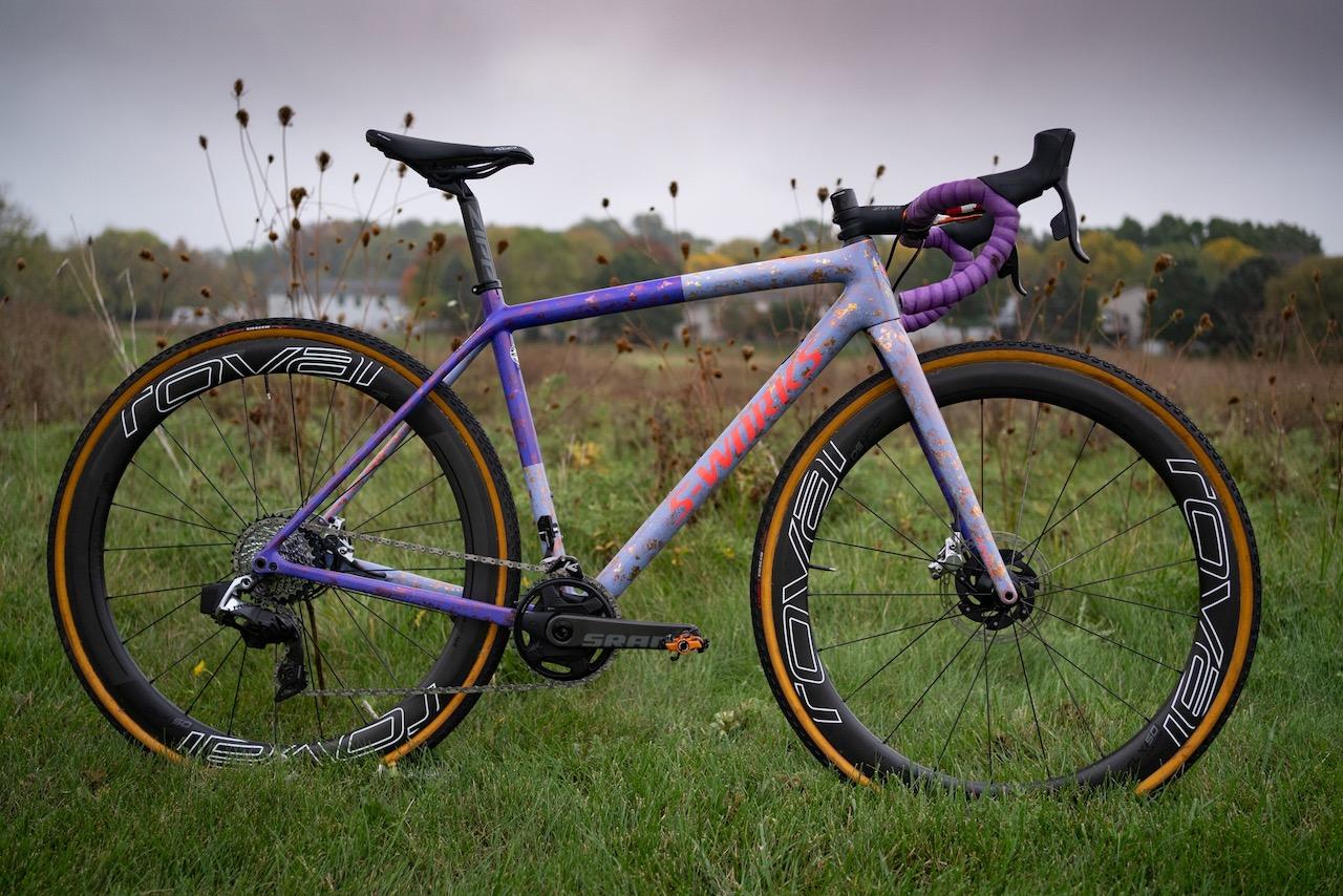 Maghalie Rochette Specialized Crux bike check full