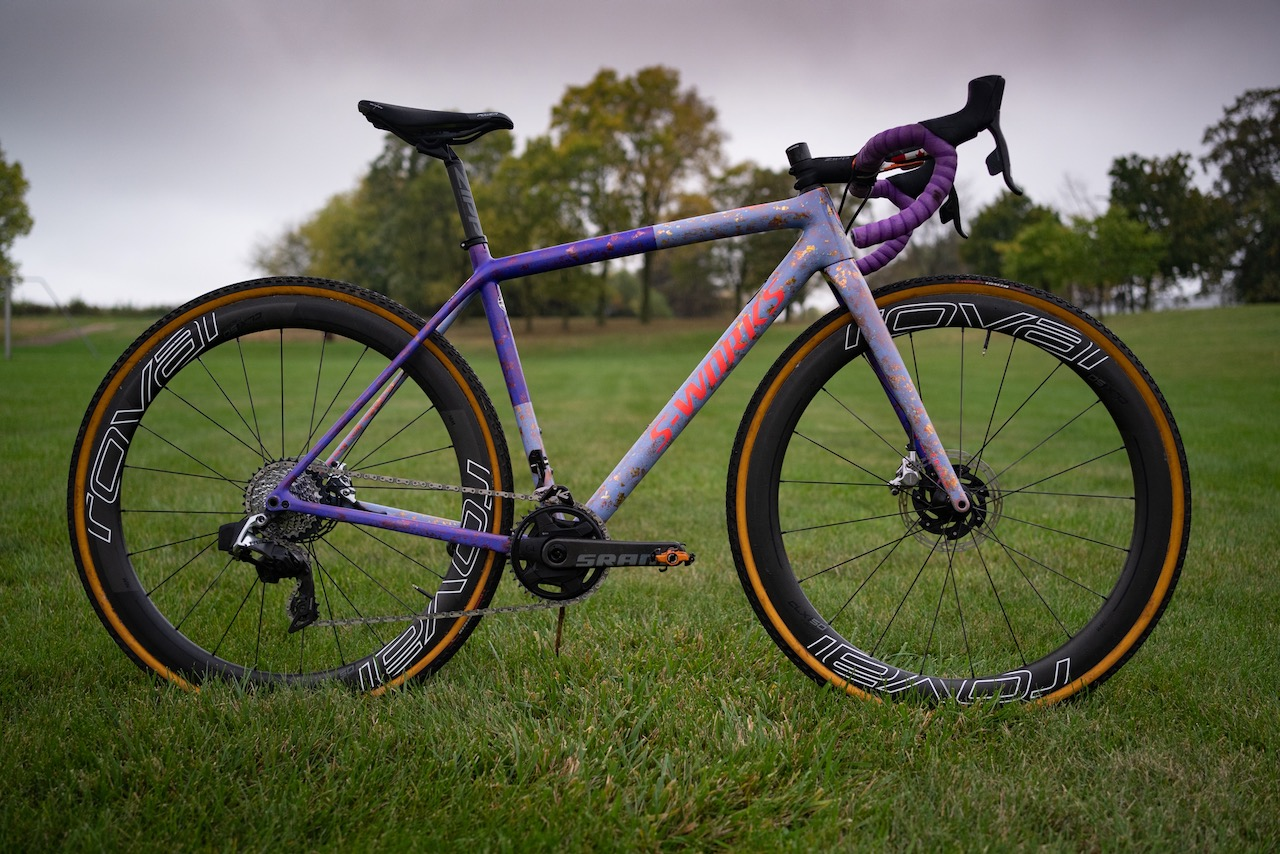 Maghalie Rochette Specialized Crux bike check full dry