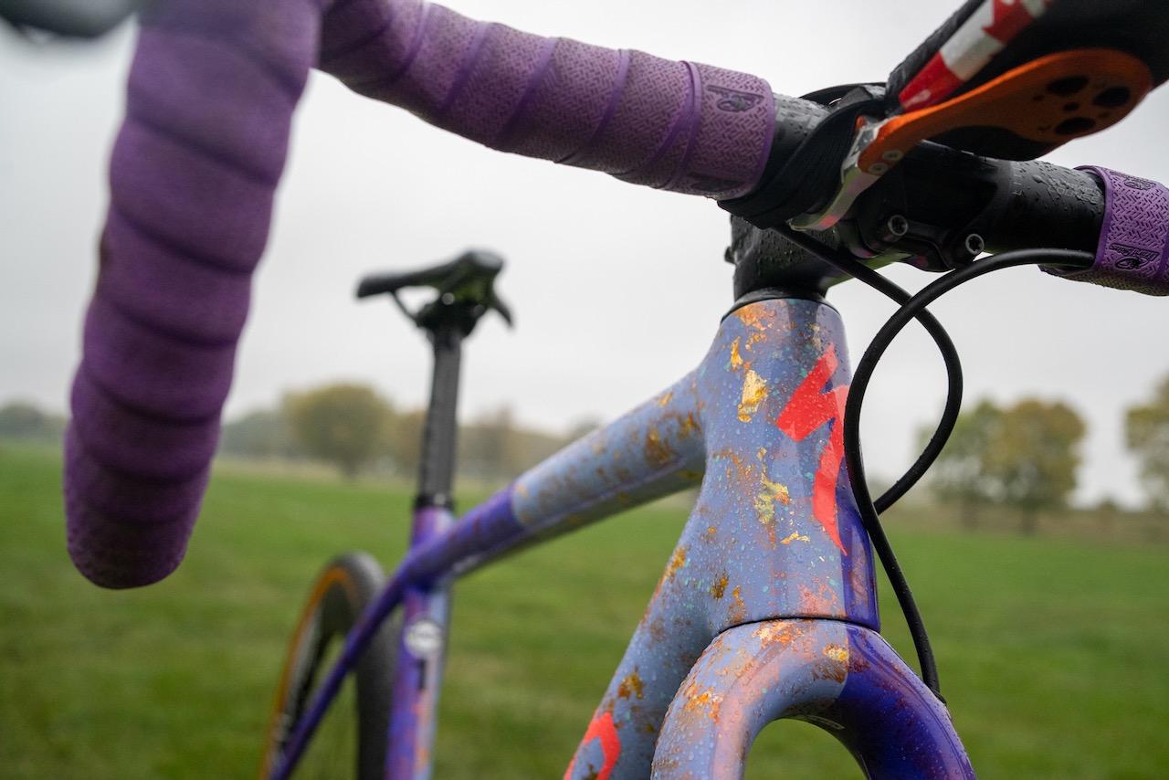 Maghalie Rochette Specialized Crux bike check full gold fleck