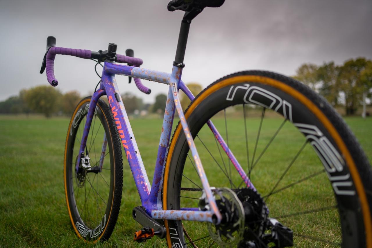 Maghalie Rochette Specialized Crux bike check full non-drive rear