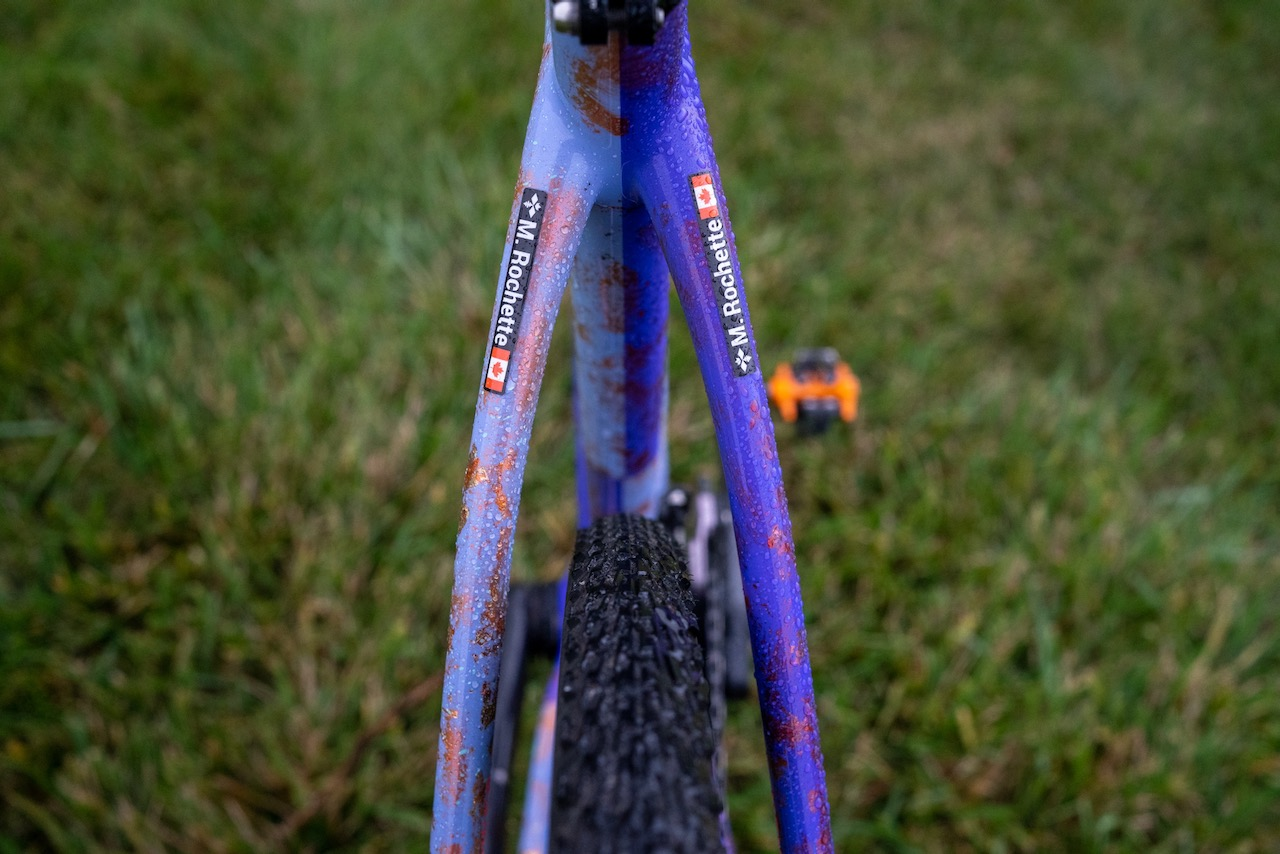 Maghalie Rochette Specialized Crux bike check full tire clearance