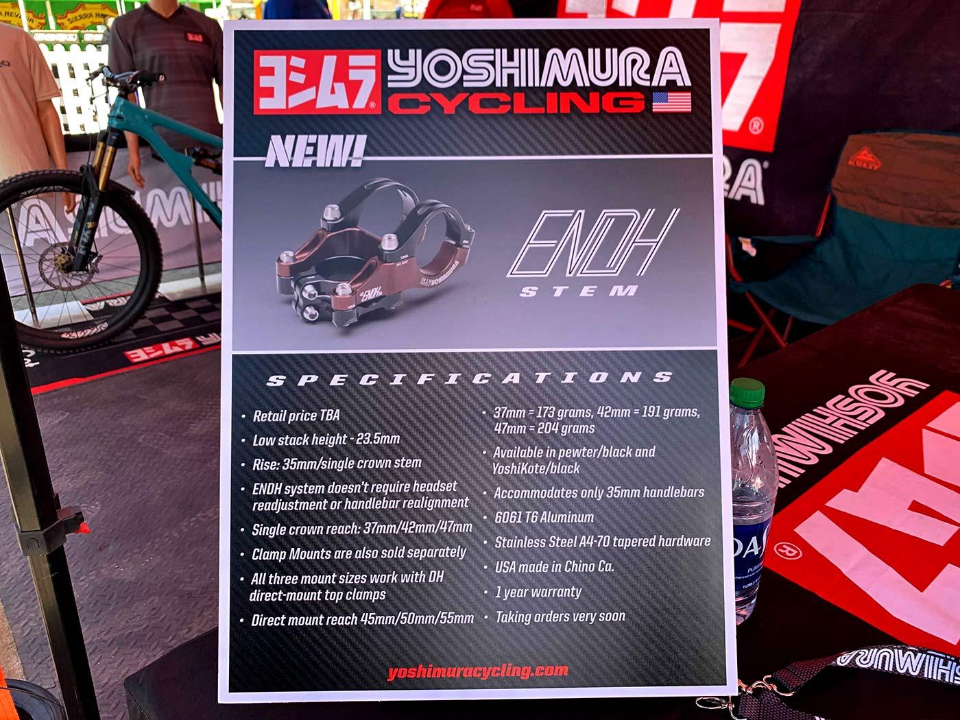 Yoshimura Enoh convertible mountain bike stem