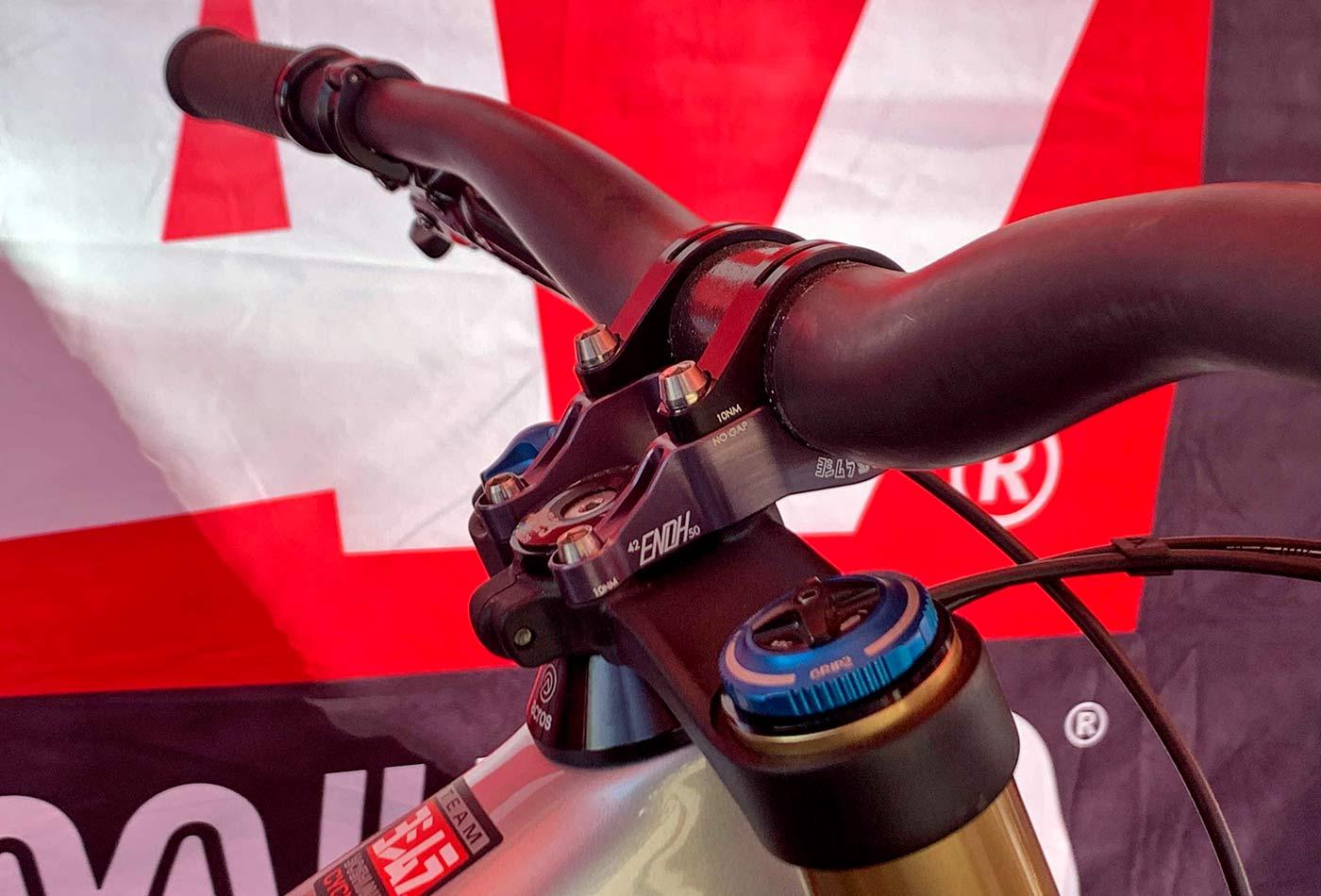 Yoshimura Enoh convertible mountain bike stem, DH direct mount