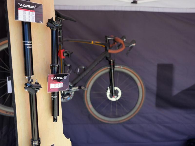 KS rage iS suspension dropper seatpost for gravel bikes