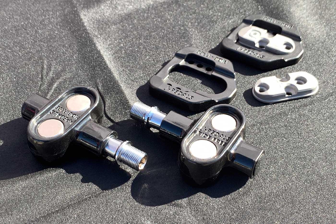 דוושות j-pedals דוושות מגנטיות ללא קליפ לאופני כביש ואופני הרים