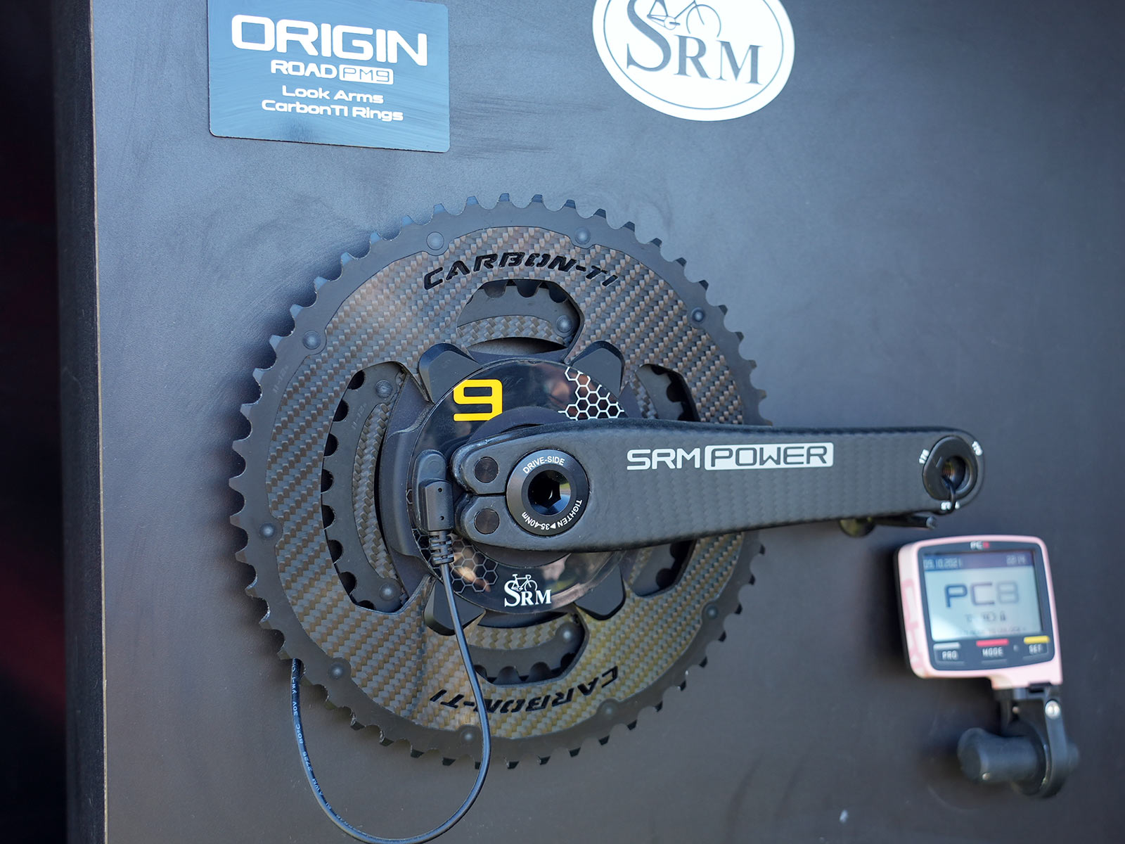SRM PM9 powermeter spiders add oval ring compatibility, ditch the cadence magnets thumbnail