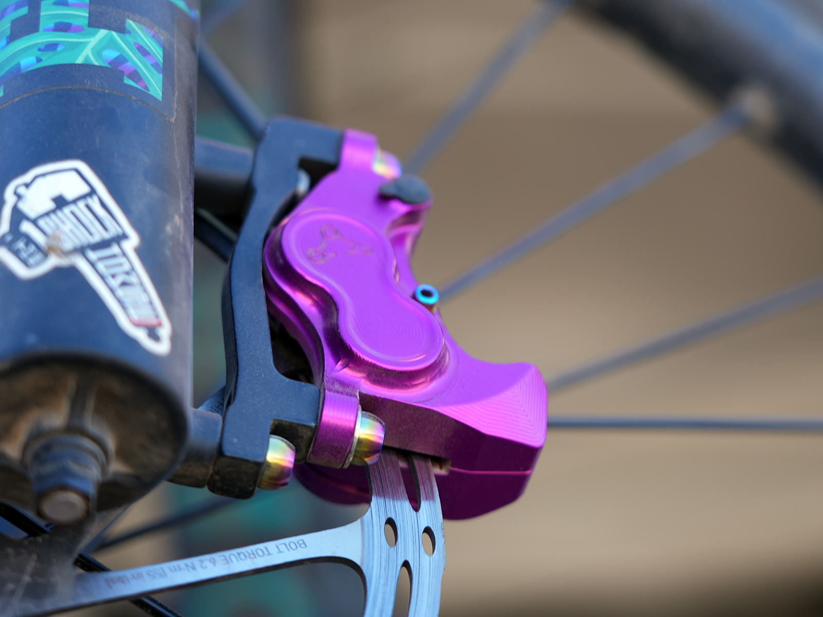 cascade components north fork cnc brake calipers for sram code levers
