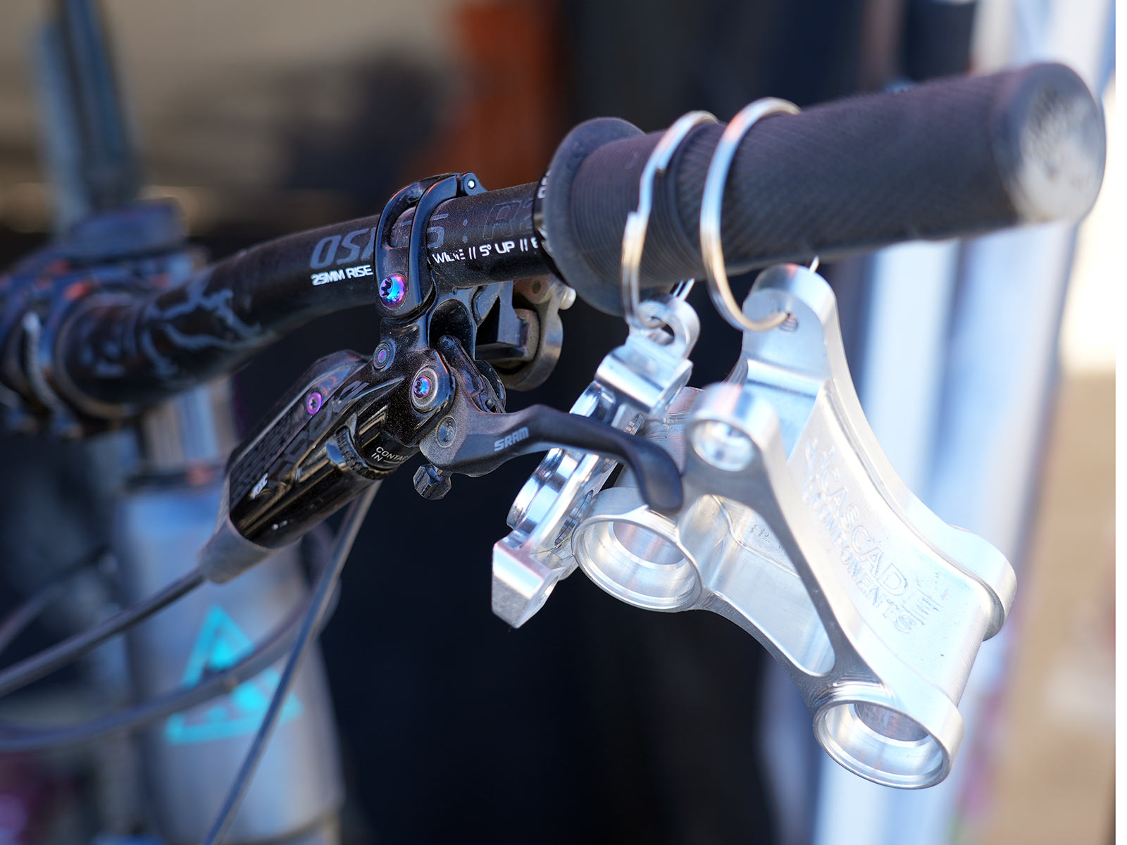 Cascade Components North Fork brakes machine more power from SRAM Code Levers thumbnail