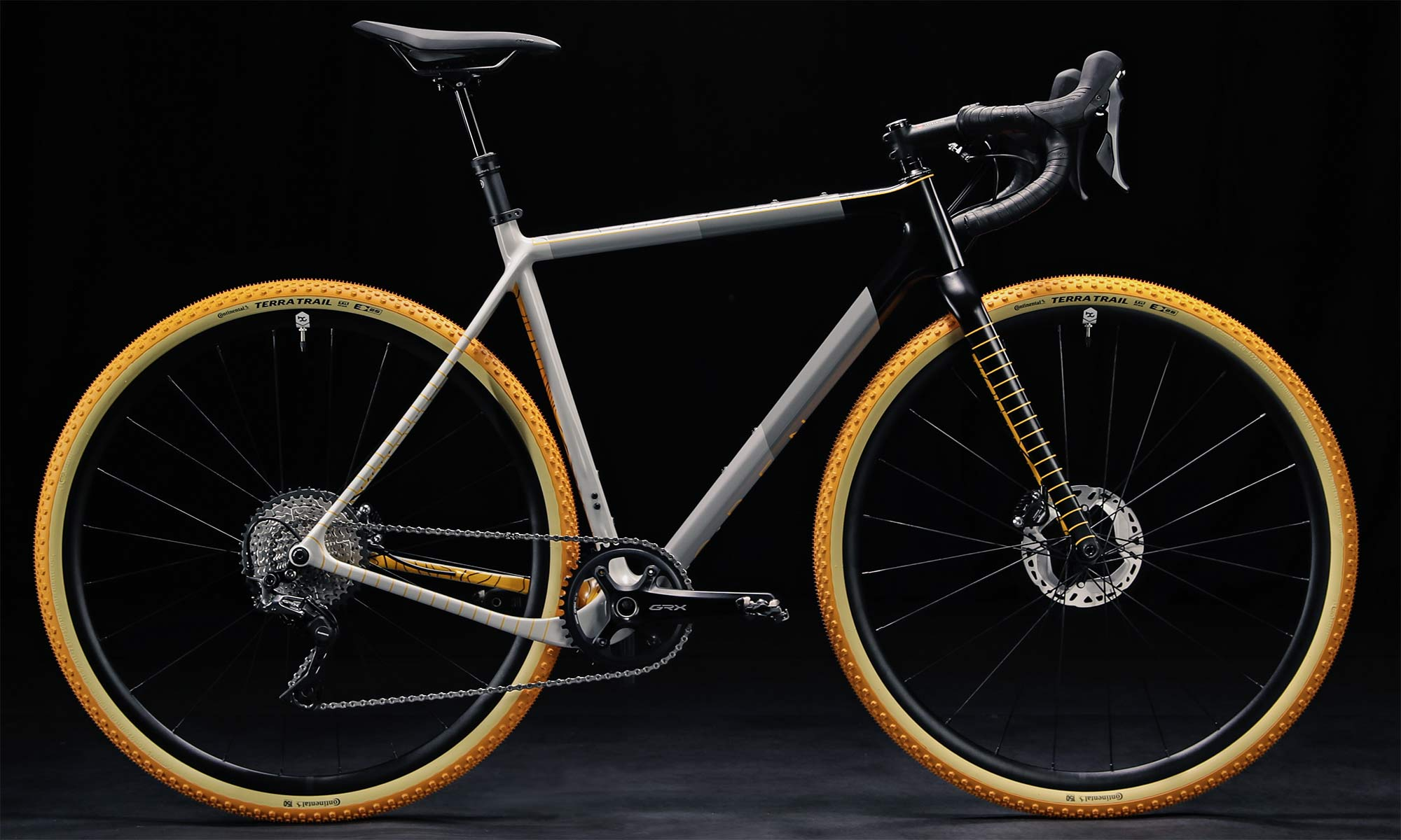 Continental 150th limited edition Terra Trail tires on a OPEN UP gravel bike, complete