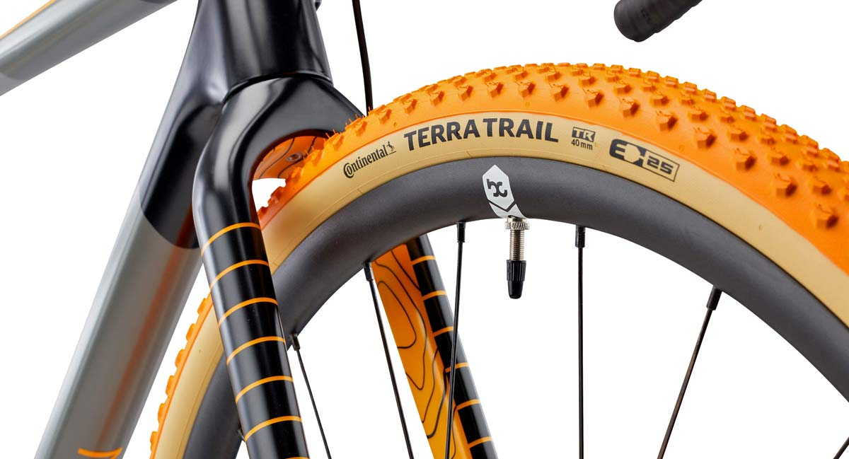 Continental 150th limited edition Terra Trail gravel tires, sidewall