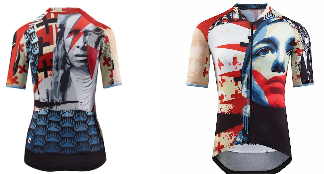 Velocio Homeland jersey front and back