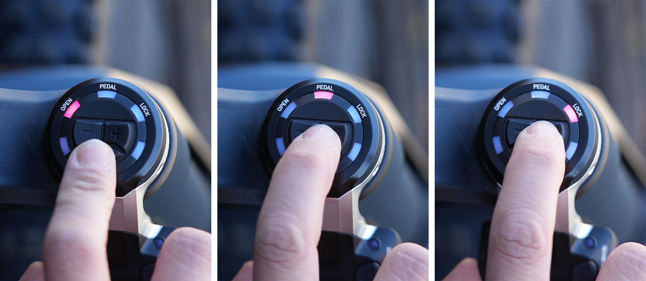 Video: Closeup look at Rockshox Flight Attendant electronic suspension control thumbnail