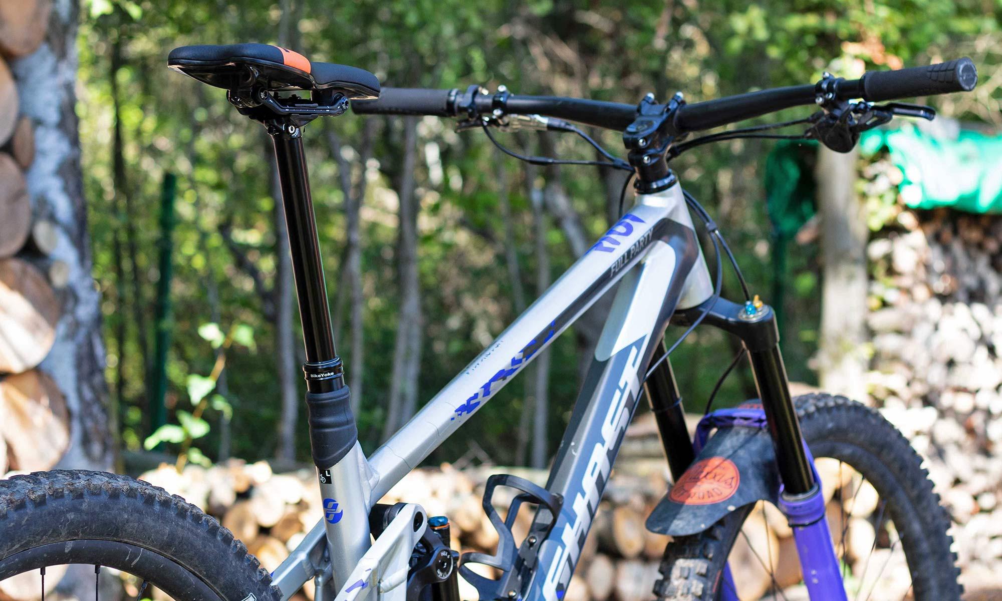 BikeYoke Revive Max extends 34.9 dropper to 213mm, get v2.0 upgrades bigger travel bikes
